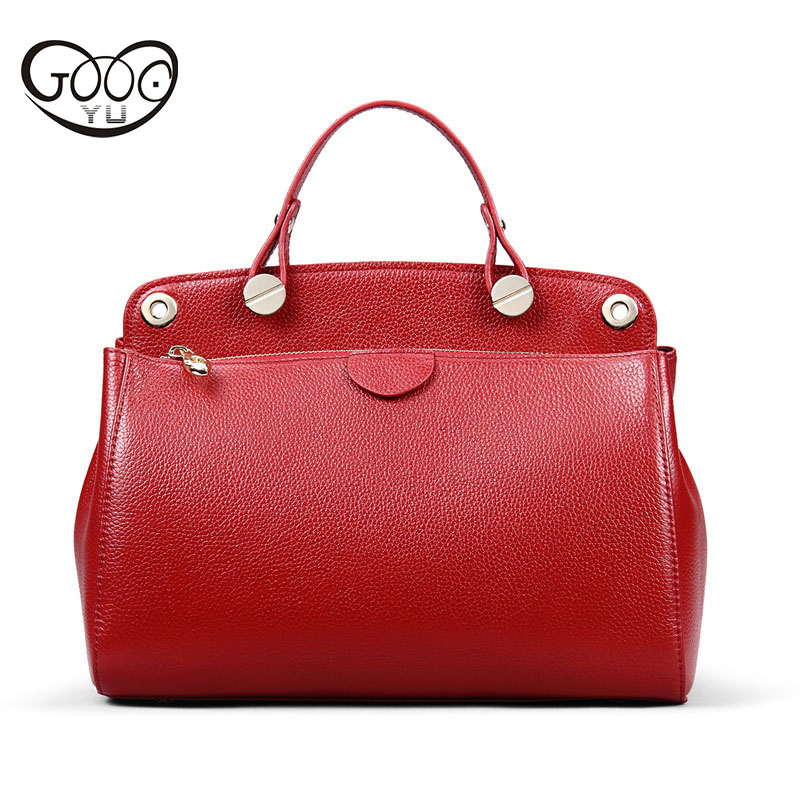 Europe and the United States luxury fashion first layer of leather lychee texture handbag, simple cross-style square retro large europe and the united states style first layer of leather lychee handbag fashion retro large capacity solid business travel bus