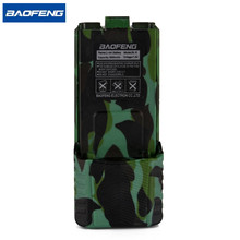 Baofeng UV-5R Camouflage Battery BL-5L Extended 3800mAh 7.4V Li ion Rechargeable for BF-F8 Radio