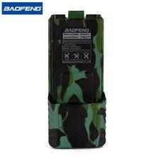 Baofeng UV 5R Camouflage แบตเตอรี่ Walkie Talkie BL 5 Extended 3800 mAh 7.4 V แบตเตอรี่ Li ion แบตเตอรี่สำหรับ BF F8 วิทยุ