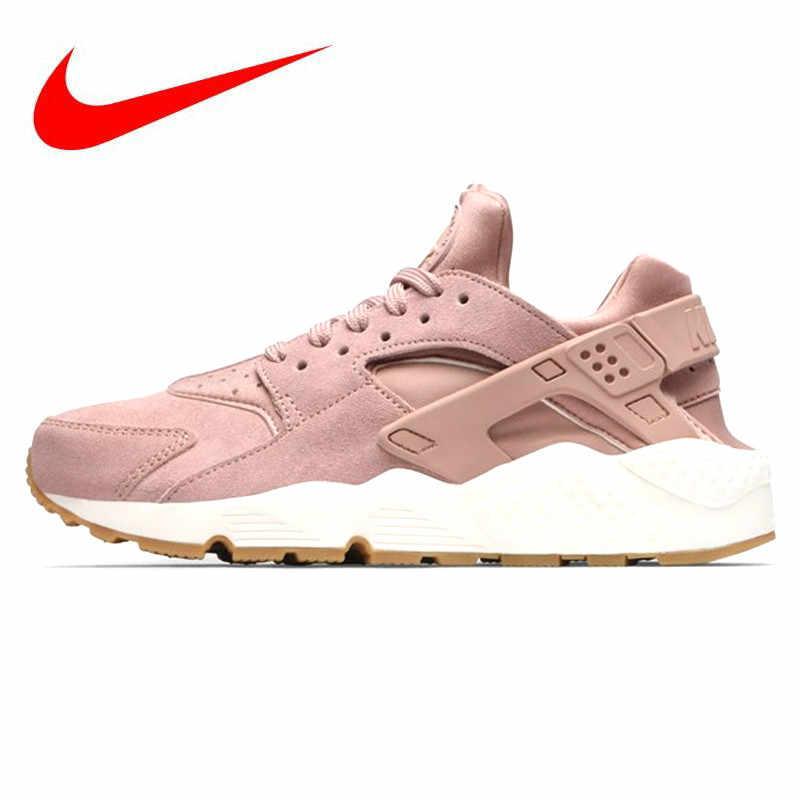 6f0684817456b Origianl NIKE AIR HUARACHE RUN Premium Women s Sneaker Running Shoes