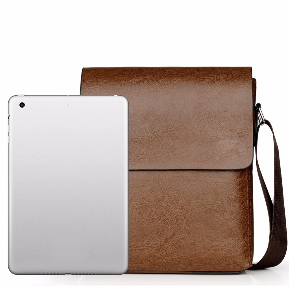 Crossbody Bags For Men Leather Shoulder Bag Male Casual Simple Knitting Messenger Bags High Quality Business Men's Hand Bag 5