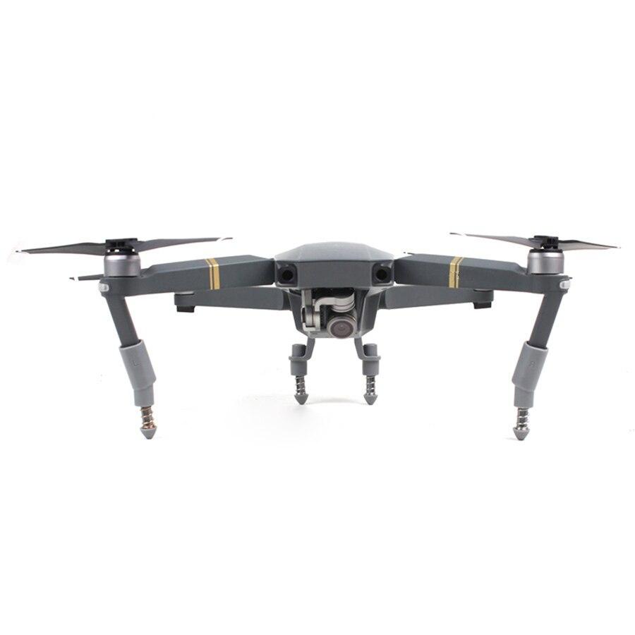 DJI Mavic Pro Quadcopter 업그레이드 용 익스텐더 랜딩 기어 충격 흡수 랜딩 하이 라이저 라이저 키트