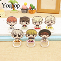 Youpop Kpop Got7 Jackson Mark Jb Bambam Junior YuGyeo Album Fly K-POP Case 360 Ring Degree Finger Stand Holder ZHK