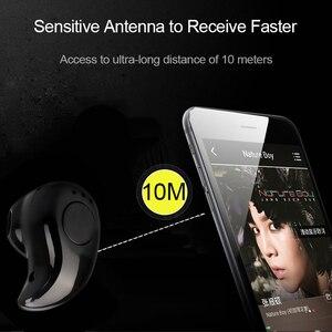 Image 3 - Mini Wireless Bluetooth Earphone in Ear Sport with Mic Earphones Handsfree Headset Ear buds  Ear phone for iPhone 8 X Samsung