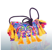 Hot Embroidery Bags Top Women S Embroidered Tassels Bag Embroidery One Shoulder Cross Body Women S
