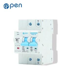 Image 4 - Smart Life 2P 40A รีโมทคอนโทรล Wifi Circuit Breaker/Smart Switch overload, ป้องกันการลัดวงจรสำหรับ Smart home
