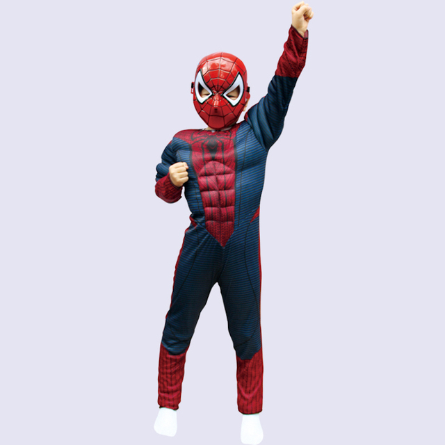 Spider Man Halloween Costume for Kids