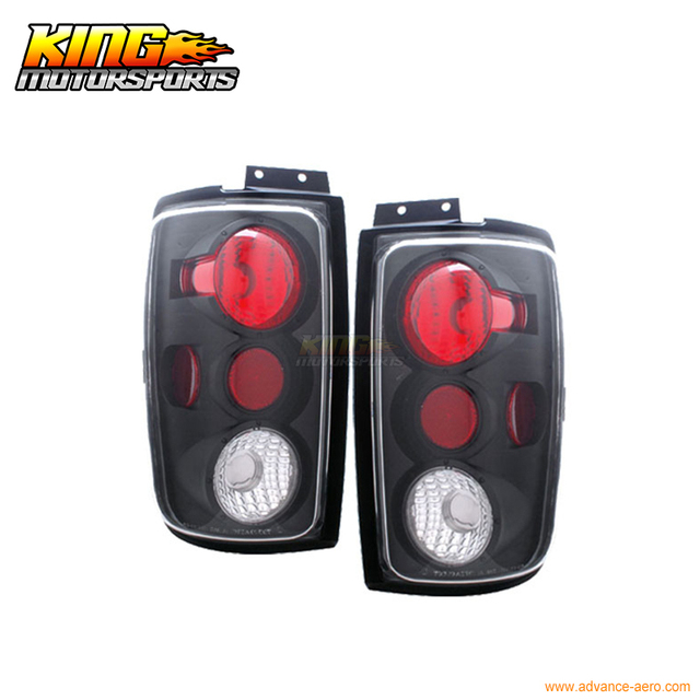 For 97 02 Ford Expedition Tail Lights G2 Black 98 99 00 01 Usa Domestic Free Shipping