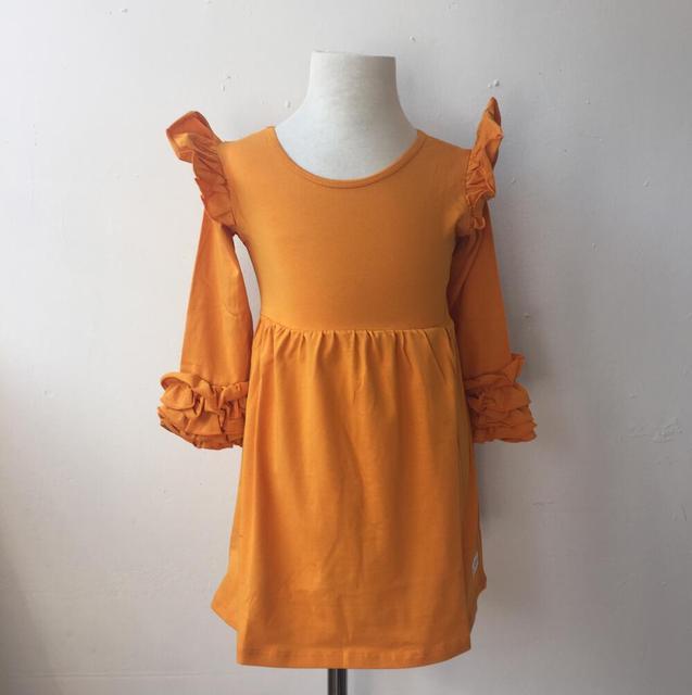 Kinder partei tragen kleider designs icing flattern kleid langarm ...