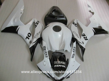 Fairing kit for Honda injection molding CBR600RR 07 08 classical white black motorcycle fairings set CBR 600RR 2007 2008 10NT