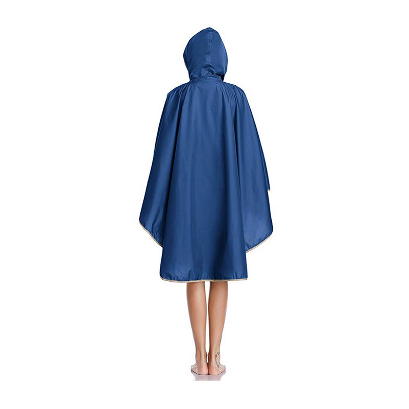 Image 5 - 1PC good quality waterproof emergency rain coat women windbreaker hooded men rain capes ponchosRaincoats   -