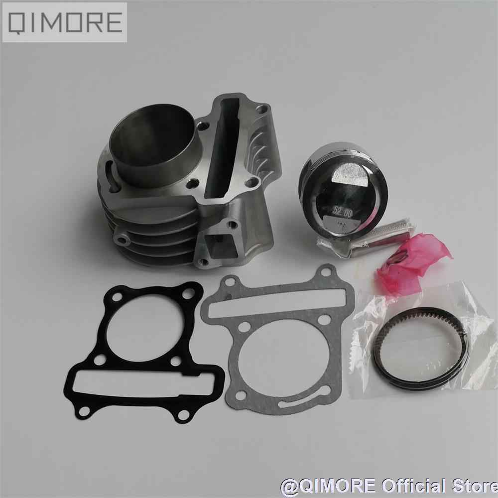 52mm big bore kit / 52mm Cylinder Piston Ring Set for Scooter Moped ATV QUAD 139QMB 1P39QMB 147QMD GY6 50 60 80 cc