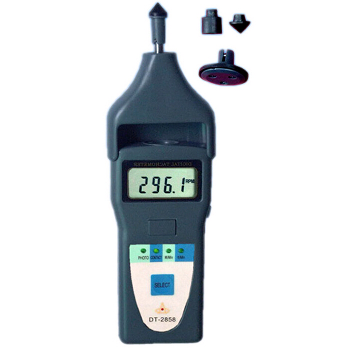 Laser Contact Tachometer Digital Inductive Tachometer laser type tachometer portable digital tachometer