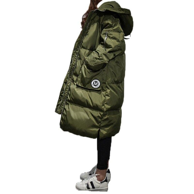 2016 New Women winter Fashion X Long Winter Coat Women Jacket Female With Outwear with Women