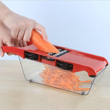 050 7in1  Household cut shredding machine slice shaving portable planer peeler kitchen tool Multifunction planing