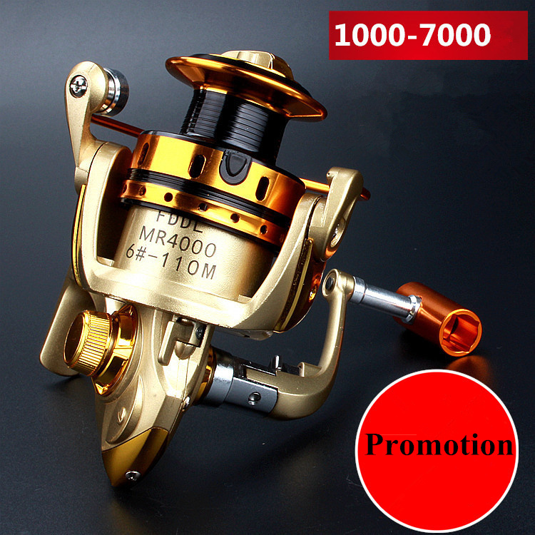 For sale new high quality fishing reel 10bb 1000 7000 for Fly fishing reels for sale