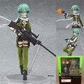 Anime Espada Arte Sao Online 2 Figma 241 Sinon Asada 2 Acción PVC Figure Collection Modelo Juguetes Muñeca Brinquedos Envío gratis