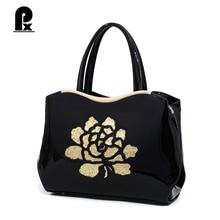 Pacento Neue China Stil Blumen Damen Handtaschen Retro Druck Frauen taschen Messenger Taschen Sac Ein Haupt Femme De Marque Canta Bolsos