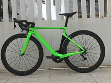 2018 Aroad Cf SLX carbon road bike complete bicycle carbon BICICLETTA bicycle with bike group R8000 5800 carbon 50mm clincher
