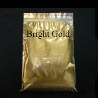 Gold Pearl Pigment Dye Ceramic Powder Paint Coating For Craft Coloring For Leather Never Fade 50g