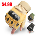 Best Half Finger Military Tactical Gloves Outdoor Work Gloves Combat Police Tactical Shooting Fingerless Glove