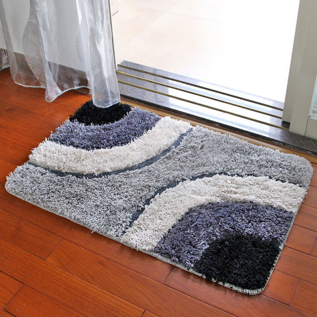 Teppich Für Wohnzimmer Schlafzimmer Cool Abstract Blau Grau Braun