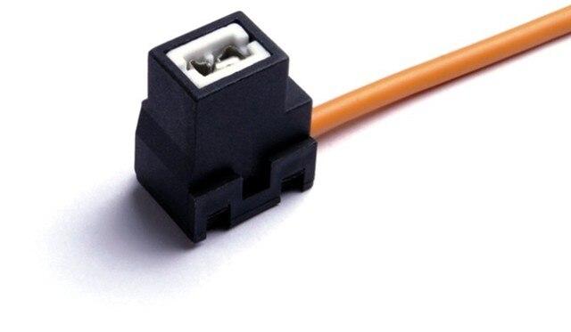 aliexpress com buy h1 h3 female ceramic 10pcs headlight wiring h1 h3 female ceramic 10pcs headlight wiring harness lamp holder socket connector adapter