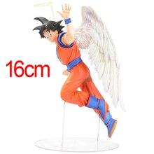 16cm Japanese Anime Figure Toys Dragon Ball Z Action Figure Angel Son Goku Figures Doll PVC Model Kids Toy