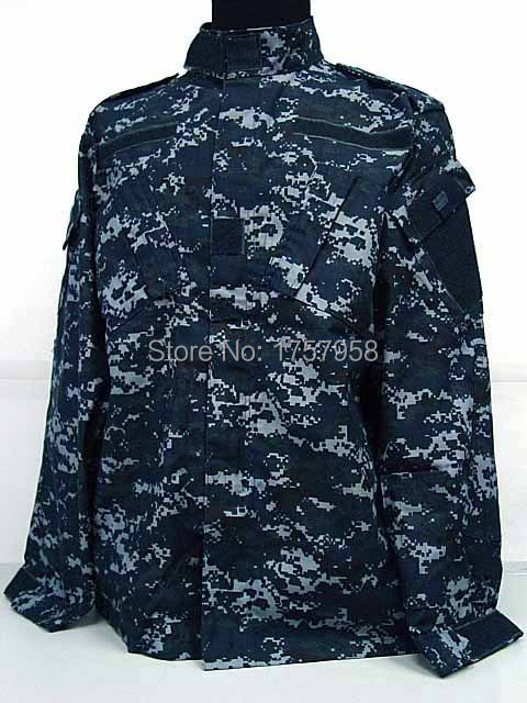 US Camouflage Uniform navy military uniform Navy Digital