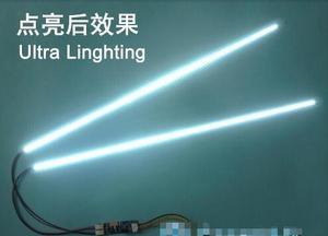 Image 3 - 10 stuk/partij De artikel 15 tot 24 inch universele LCD LED verlichting veranderen LCD LED upgrade kit Verstelbare helderheid 540 mm
