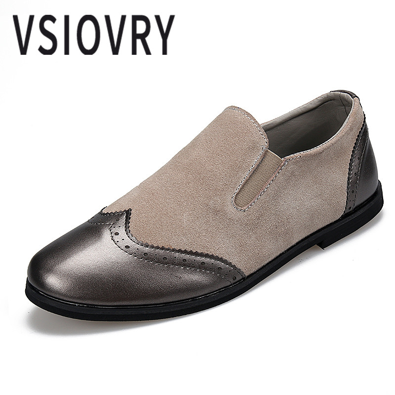 VSIOVRY Handmade Men Leather Casual Shoes Summer Luxury Brand British Style Moccasins Comfortable High Quality Loafers For Men's cbjsho brand men shoes 2017 new genuine leather moccasins comfortable men loafers luxury men s flats men casual shoes