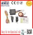ATV Da Motocicleta Sistema de Alarme Anti-roubo Sistema de Alarme de Segurança com Controle Remoto Acessórios Da Motocicleta