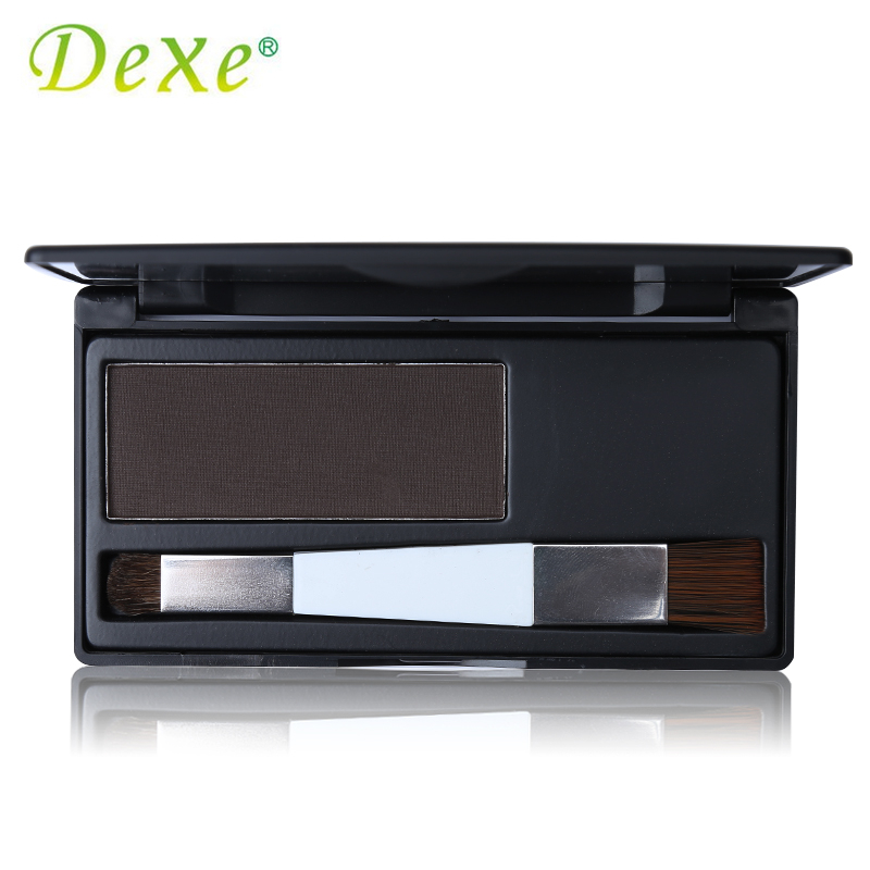 Dark Brown Color Dexe Hair Coloring Products Cover Gray Root Cover Up Hair Color Powder Temporary Hair Dye 100ml unisex gray color temporary hair dying dye cream hair beauty salon tool