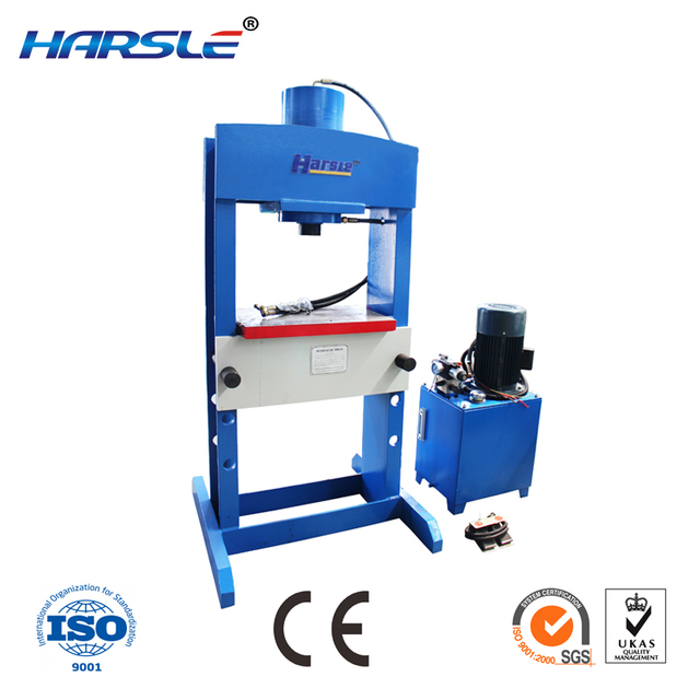 20 Ton Hydraulic Press Machine Shop Press With Gauge In Punching
