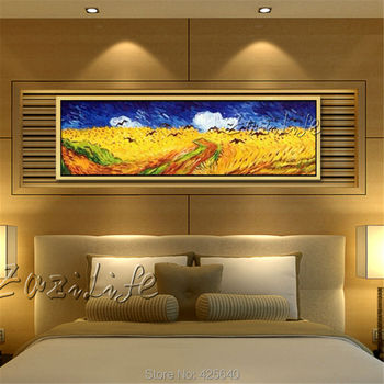 Van gogh oil painting wall art pictures for living room bedroom home decor wall decor hand painted star Van gogh reproduction02