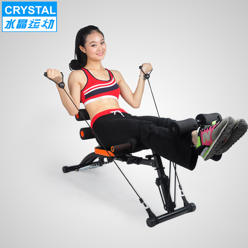 dedf1e074be Six versatile Abdomenizer home fitness equipment abdominal crunches  abdominal machine lazy exercise machine-in Ab Rollers from Sports    Entertainment on ...