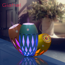 GIAHOL 320ml Portable Air Humidifier USB LED Night Light Mist Maker For Home Car Oil Aroma Diffuser Purifier Atomizer