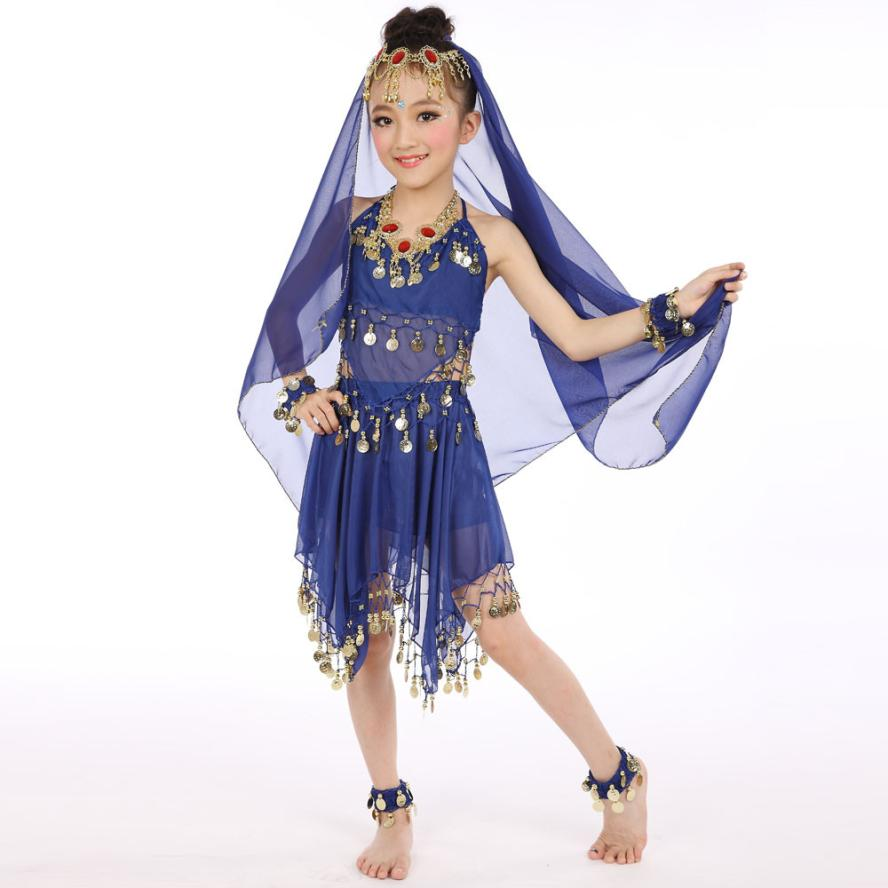 17a470f2d3d1 2017 Handmade Children Girl Belly Dance Costumes Kids Belly Dancing Egypt  Dance Clothes set D40 -in Clothing Sets from Mother & Kids on  Aliexpress.com ...