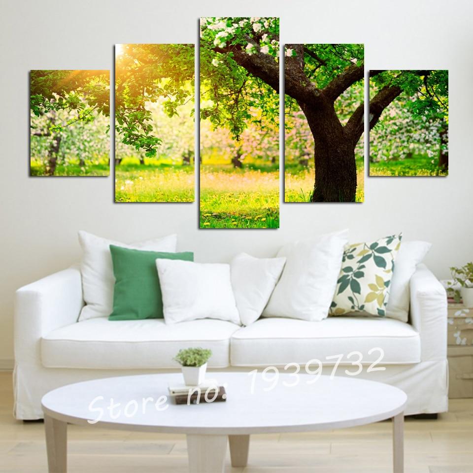 5 digital photo leinwand malerei home dekorative wandaufkleber kunst ...
