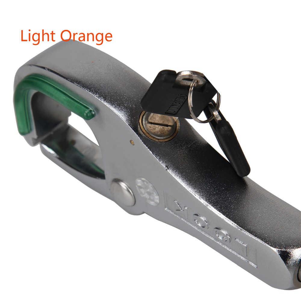 Universal รถ Anti-Theft เบรคเกียร์เปลี่ยนเกียร์ Handbrake Lock สำหรับ Toyota Honda Audi Nissan