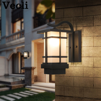 LED light waterproof sconce surface mounted outdoor Corridor garden villa lighting retro wall lamp lampara pared Lampe murale