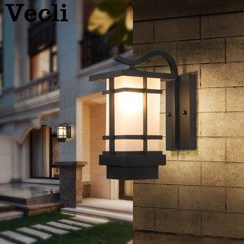 LED light wodoodporny kinkiet montowane na powierzchni odkryty korytarz ogród willa oświetlenie kinkiet retro lampara pared Lampe murale