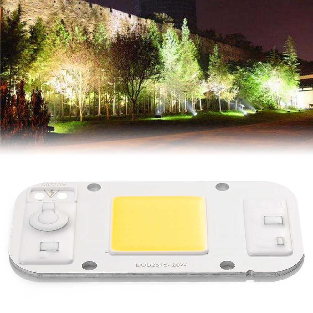 COB SMD Spotlight AC 220v DOB Led Bulb Chip Smart IC Beans 20w 30w 50w Energy Saving Lamp Outdoor White / Warm Dinner Bright Lig