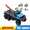 New Lepin 20056 1912Pcs Technic Series The Ultimate All Terrain 6X6 Remote Control Truck Set Building