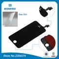 Tela de lcd para iphone 6 s plus 6 plus lcd para iphone 6 s Exibição 3D com Tela de Toque Digitador Assembléia completa Branco Exibição preto