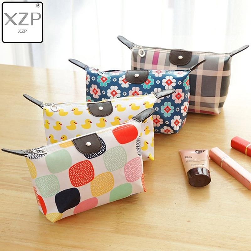 XZP Women Travel Toiletry Make Up Cosmetic Pouch Bag Clutch Handbag Purses Case Cosmetic Bag For Cosmetics Makeup Bag Organizer