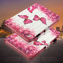 LUCKBUY For Apple iPad mini 1 2 3 4 Retina 3D Printed Butterfly OWL Unicorn Effiel Silicone Cover Mini4 Fundas Coque