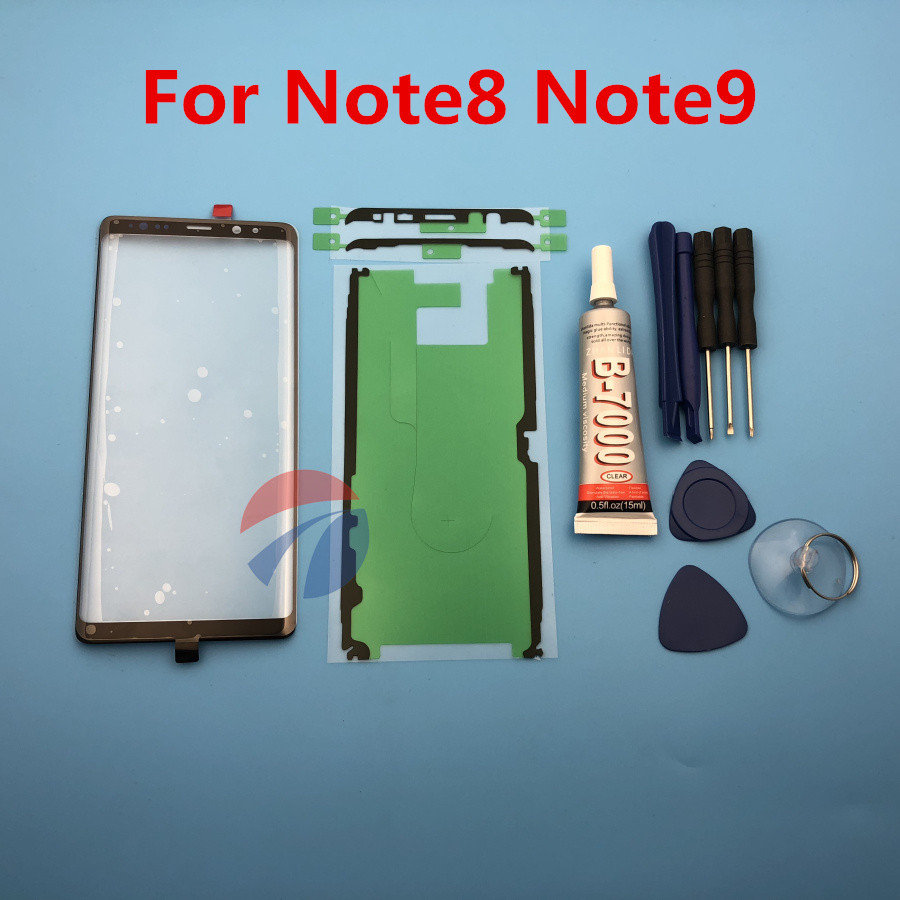 Note8 Note9 Front Outer Glass Lens Cover replacement For