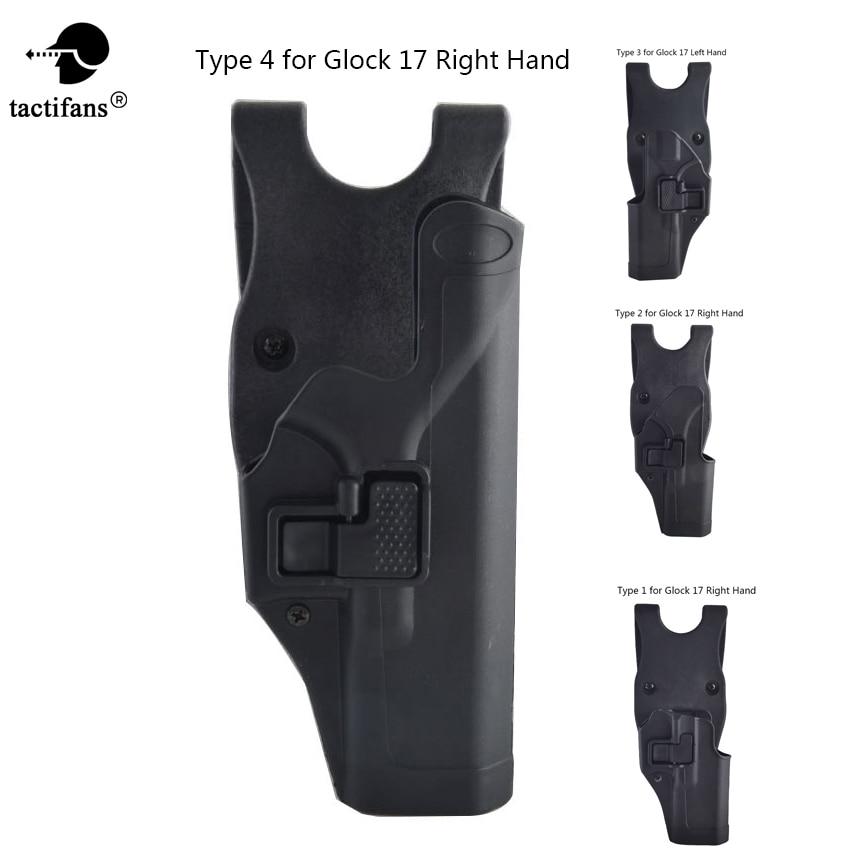 Tactifans Quick Draw Jacket Slot Duty Loop Belt Pistol Gun Holster Left Right Hand for G ...