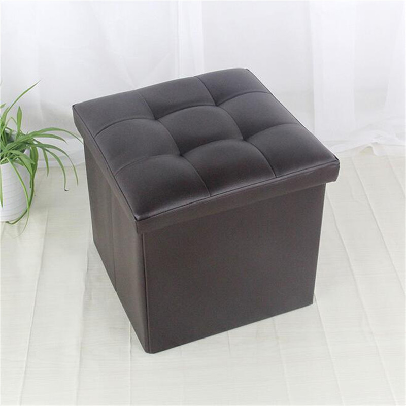 Moderno Otomana De Almacenamiento De Tela Con Muebles Bandeja Ideas ...